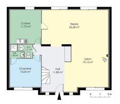 Maison 160 m² Rez de chaussée