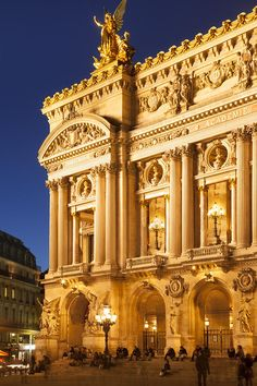 Paris Opera, France. Why I didn't go when I was there, I will never know, oh wait no one else like Opera.