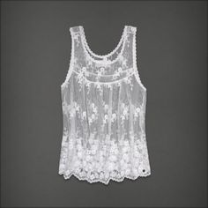 Abercrombie & Fitch - Shop Official Site - Womens - Tops - Fashion Tops - Camis & Tanks - Jane Top