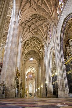 Catedral de Segovia, Spain.