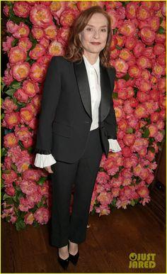 Isabelle Huppert Go Fug Yourself Tuxedo Jacket, Suit Jacket, Isabelle Huppert, Michael Kors, Actresses, Blazer, Celebrities, Jackets, Collection