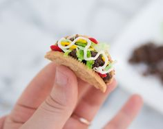 Taco Cupcakes Recipe and Tutorial