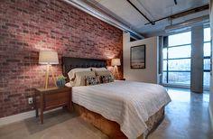 Toronto Lofts, Quartz Counter, Flat Panel Tv, Bedroom Office, Closet Storage, Built Ins, Car Parking, The Unit, Flooring