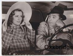IRENE DUNNE Wide Brim Hat Wool Suit Vintage Car CHARLES BOYER PHOTO   eBay