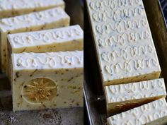 Edelweiss Cold Process Soap Recipe with Sheep's Milk, Heather and Hyacinth