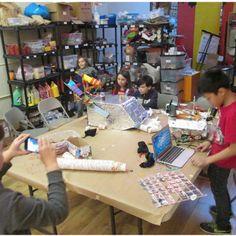 NYSCI Design Make Play - Brooklyn Robot Foundry