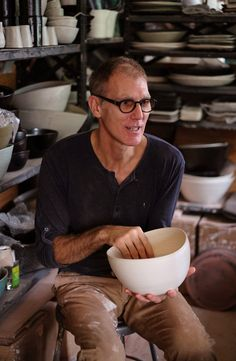 A day in the work of Eric Bonnin, potter. For Wonderment and Co.