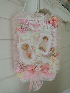 wall hanging shabby chic