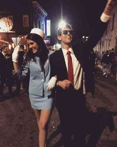 Hallowen Costume Couples 114 Creative DIY Couples Costumes for Halloween via Brit + Co Costumes Assortis, Easy Couples Costumes, Costumes For Women, Woman Costumes, Mermaid Costumes, Pirate Costumes, Group Costumes, Adult Costumes, Princess Costumes