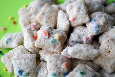 CAKE BATTERED PUPPY CHOW SNACK