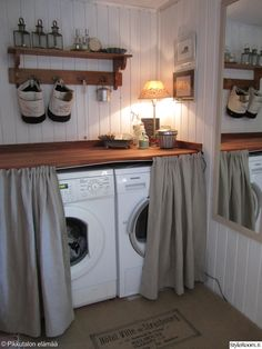 … Küchen Design, Interior Design, Laundy Room, Laundry Room Inspiration, Small Laundry Rooms, Cabin Kitchens, Cozy House, Home Projects, Home Remodeling