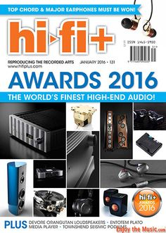 EnjoyTheMusic.com has just added Hi-Fi+'s January issue that celebrates their Awards 2016 product of the year! This issue includes reviews of the Kronos, Entotem, Devore Fidelity,Townshend Audio and more. See this issue at www.EnjoyTheMusic.com/hifi_plus/