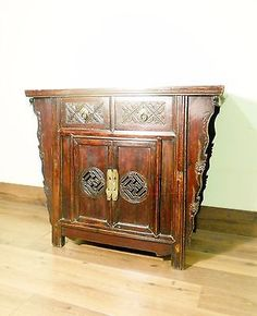 "Antique Chinese ""Butterfly"" Coffer (5672), Circa 1800-1849"