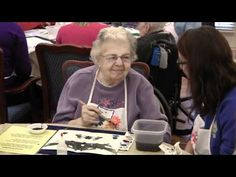Opening Minds through Art   intergenerational art' program for people with dementia