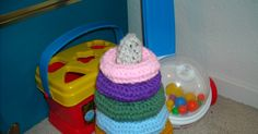 As promised, here is the rest of the pattern for the Baby Ring Stacking Toy. I posted Part 1 last week. The Base - work in rounds, do no...