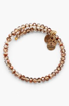 Alex and Ani 'Gleam' Wrap Bracelet available at #Nordstrom