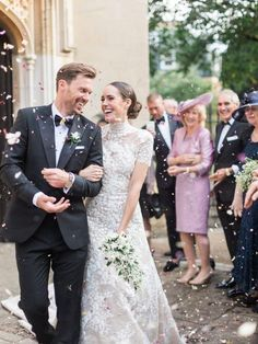 Louise Roe's Impossibly Chic Windsor Wedding at Dorney Court