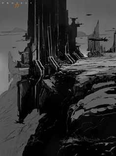 Project 77 Concept Art, Martin Deschambault on ArtStation at https://www.artstation.com/artwork/lK4ea