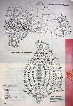 Crochet Motif Patterns, Crochet Diagram, Filet Crochet, Knit Crochet, Crochet Books, Thread Crochet, Crochet Stitches, Crochet Tablecloth, Crochet Doilies