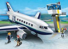 PLAYMOBIL 5261 Αεροπλάνο για Επιβάτες & Εμπορεύματα