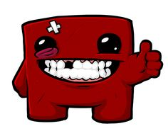 Super Meatboy - Wall Graphics and Wall Murals at LTLprints.com. Check out our new partner!!