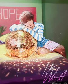 Hope World fanart Hoseok Bts, Bts Bangtan Boy, Bts Suga, Bts Memes, K Pop, Bts Anime, Fanart Bts, K Wallpaper, Bts Drawings