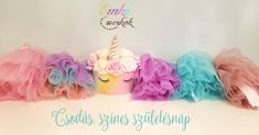 Tulle, Birthday, Skirts, Baby, Clothes, Fashion, Outfits, Moda, Kleding