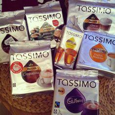 Meine leckeren Tassimo Getränke...