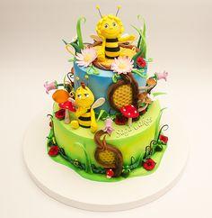 Maya the Bee / Pcelica Maja https://www.facebook.com/saga.cakes #tortesaga #tortebeograd #pcelicamaja