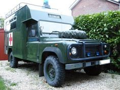 127 Ambulance Ex RAF. 3.5l V8 Low mileage. Power steering. Long MOT. Very original good condition. One owner since MOD