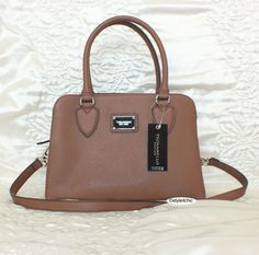 eBay UK New  TIGNANELLO LEATHER CLEAN & CLASSIC SAFFIANO SATCHEL BAG BROWN NEW TAGS