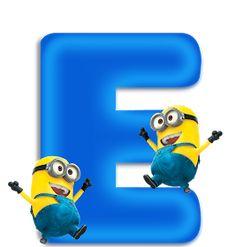 Minion Birthday, Minion Party, Happy Birthday, Easter Garden, Minnie Png, Teaching The Alphabet, Birthday Frames, Alphabet Art, Classroom Decor