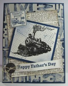 Happy Father's Day #card  created by Barb Mann