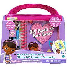 Doc McStuffins Big Book of Boo-Boos Stick n Stamp Activity Set - Tara Toys - Toys R Us