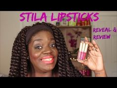 Stila Stay All Day Liquid Lipstick | Reveal & Review - YouTube