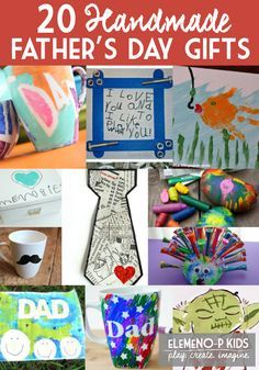 20 Handmade Father's Day Gifts From Kids