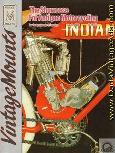 1988 April Vintage Mounts Antique Motorcycle Magazine Back-Issue Vintage Indian Motorcycles, Antique Motorcycles, Vintage Racing, Contents, Specs, Harley Davidson, Magazines, Interview, Antiques