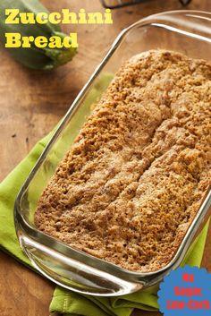 Zucchini Bread - No Sugar, Low Carb Recipe. Delicious, no sugar zucchini bread? It's true! | via @SparkRecipes