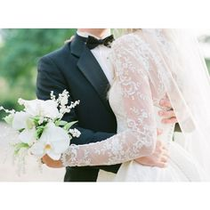 North Carolina Winter Wedding by Perry Vaile Southern Weddings... ❤ liked on Polyvore featuring wedding and photos