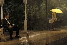 The Girl with the Yellow Umbrella  Robin's anxiety on her wedding day to Barney prompts Ted to recount the time he insisted on leaving Victoria's jilted fiancé a note before they drove off into the sunset together, on the eighth season premiere of HOW I MET YOUR MOTHER. Photo: Monty Brinton/CBS © 2012 CBS Broadcasting Inc. All Rights Reserved.