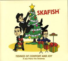 Get some Skafish under your tree! #holiday #jazz #christmas