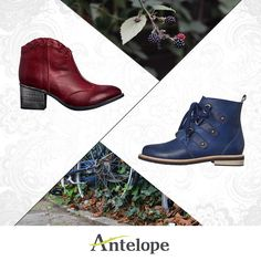 Explore new deep fall hues now on: www.antelopeshoes.com