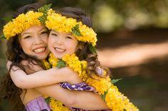 hula girls, keiki