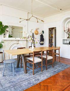 @architecturaldigest is a beautiful source of inspirations! #diningroom #table #architecturaldigest #fortstandard