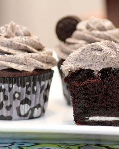 Recipe for Death By Oreo Cupcakes