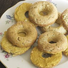 Vanilla Donuts (grain sugar nut free)