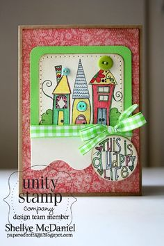 Stamp of the Week from unity stamp company - To START with the CURRENT weeks Collector's Stamp - CLICK HERE: http://unitystampco.com/shop/stamp-of-the-week/ - card created by Unity Design Team Member -