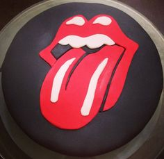 Rolling Stones cake - made by Doce Saudade