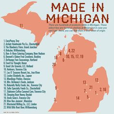 Hometowns of Michigan Made Products