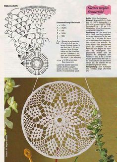 Crochet Doily Vinatge Wedding Doilies Handmade round Home Decor Table Decoration Boho Decor Gift For Her Bridal Accessories Antique Lace Motif Mandala Crochet, Crochet Doily Diagram, Crochet Motifs, Crochet Blocks, Crochet Chart, Thread Crochet, Crochet Doilies, Knit Crochet, Doily Patterns